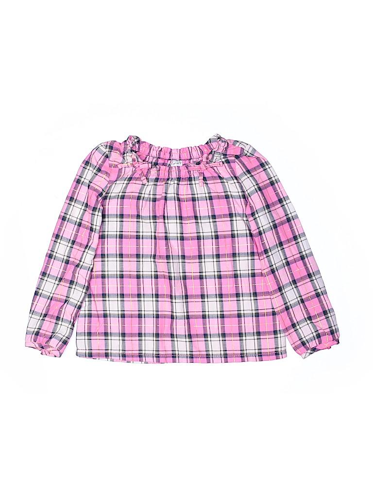 Carter's Girls Long Sleeve Blouse Size 5T