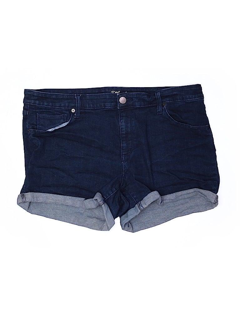 Universal Thread Women Denim Shorts Size 18 (Plus)