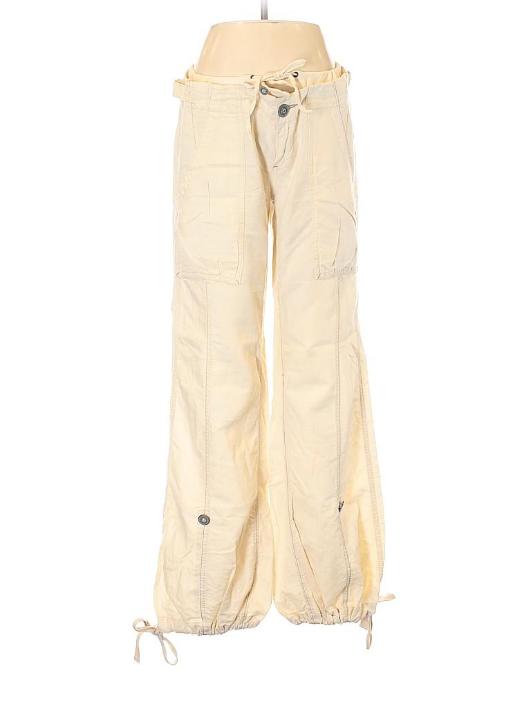 Free People Women Linen Pants Size 6