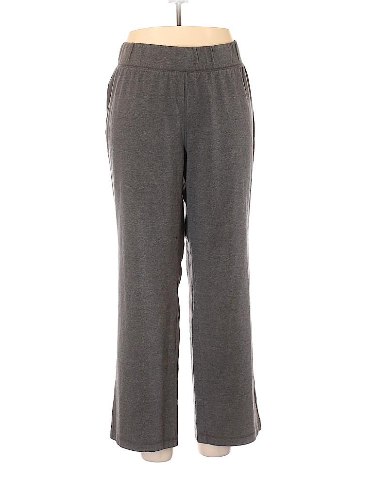 SONOMA life + style Plus Women Sweatpants Size 1X (Plus)