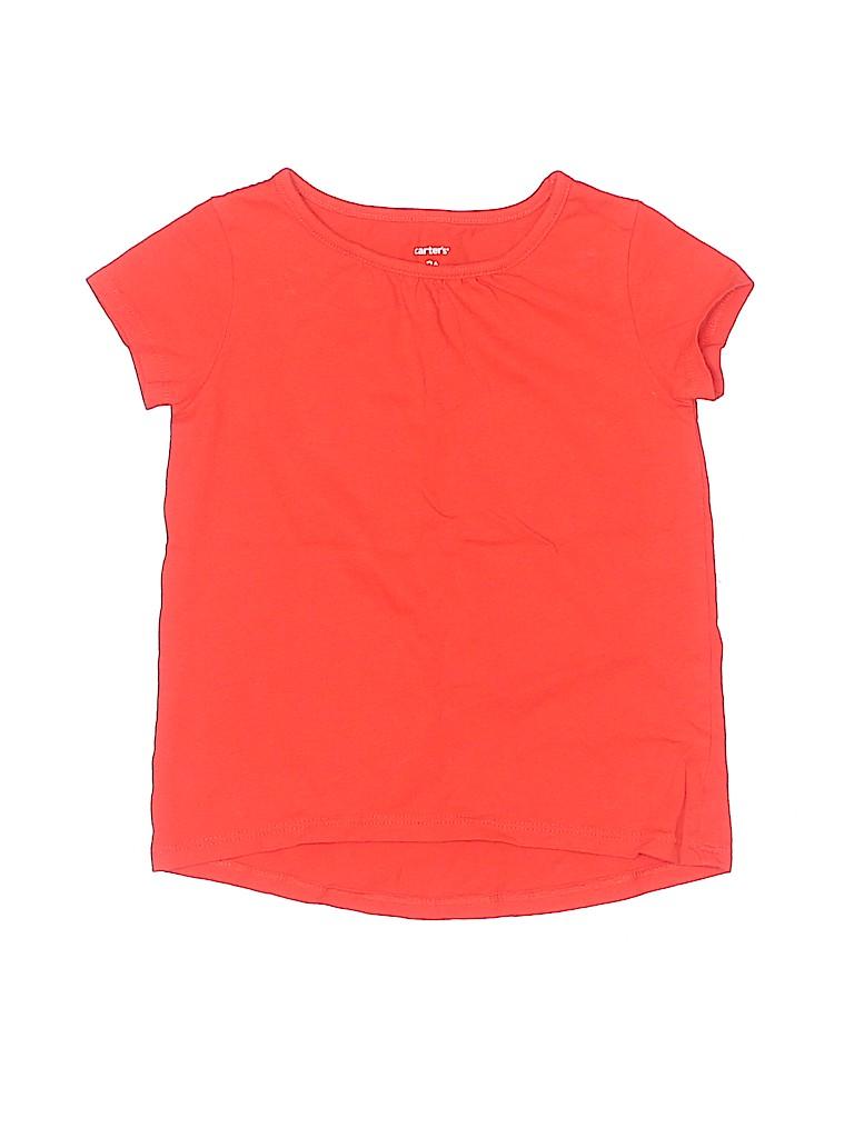Carter's Girls Short Sleeve T-Shirt Size 3T