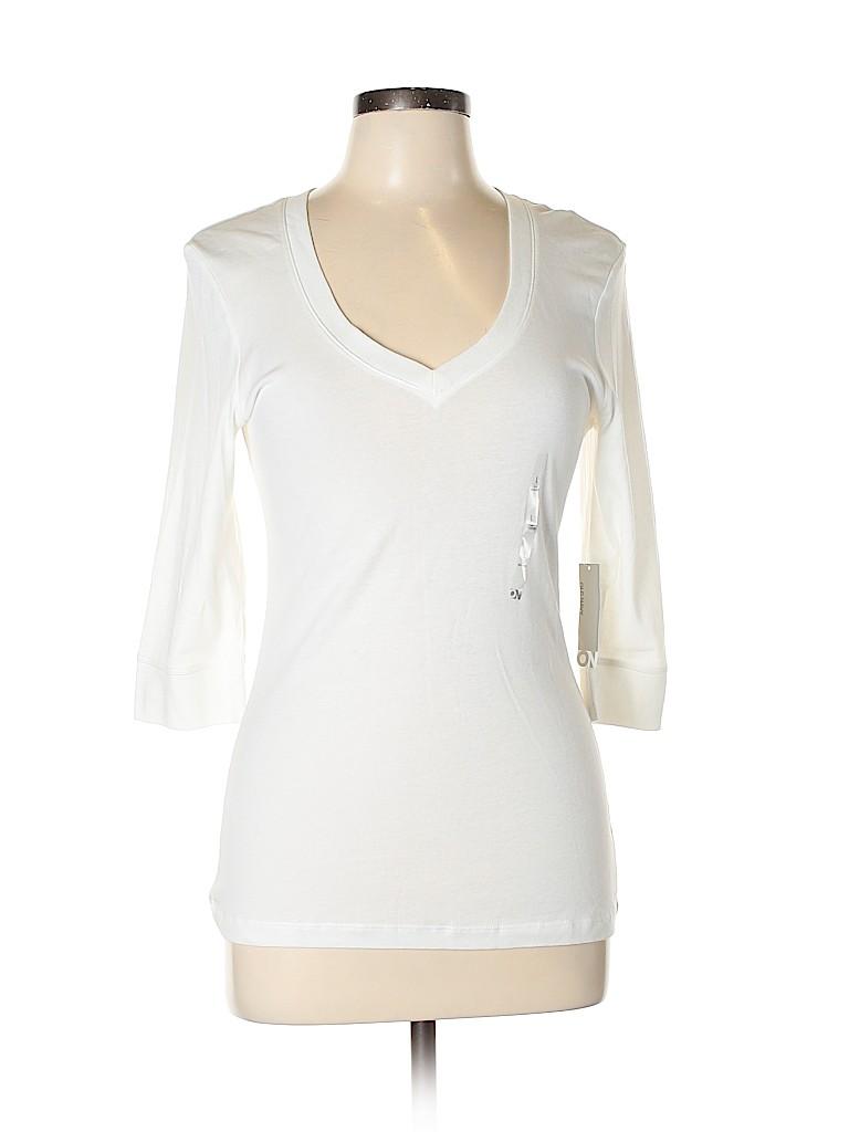 Old Navy Women 3/4 Sleeve T-Shirt Size L