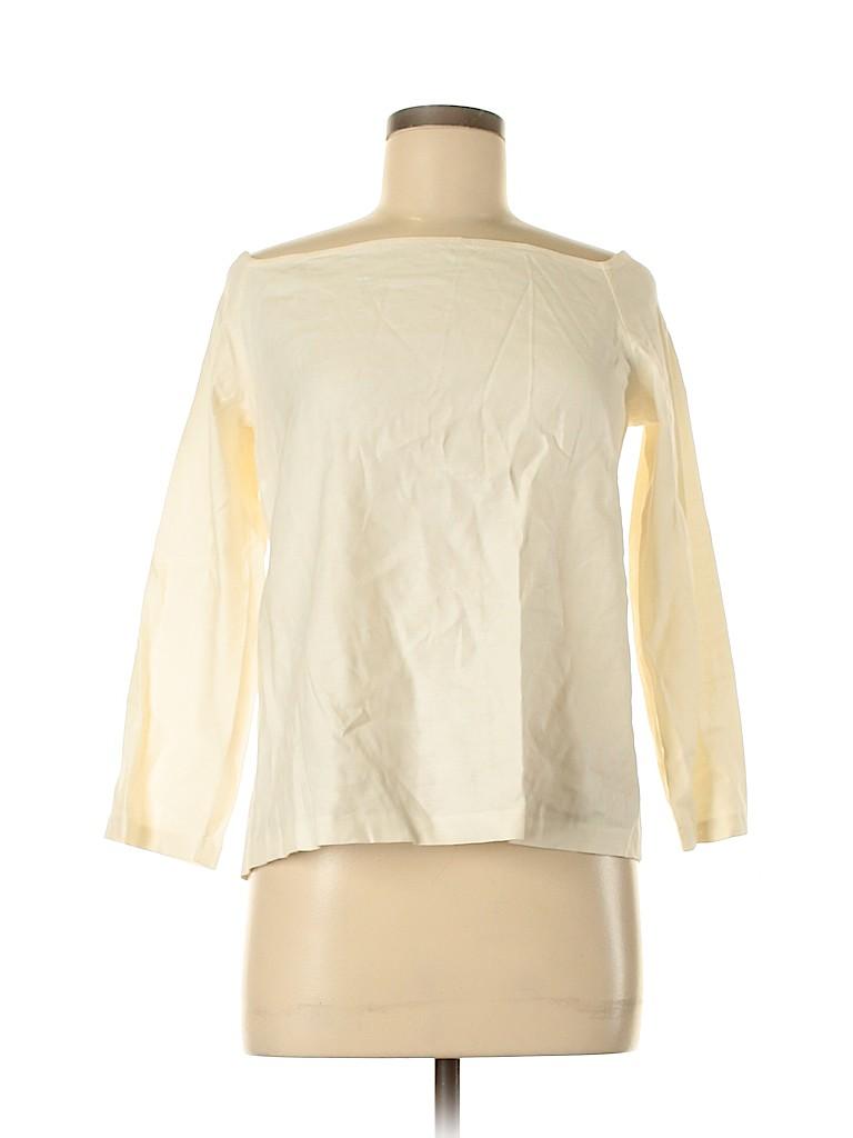 Theory Women 3/4 Sleeve Blouse Size L
