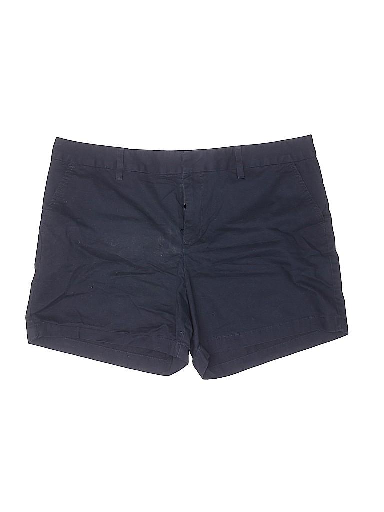Tommy Hilfiger Women Khaki Shorts Size 18 (Plus)