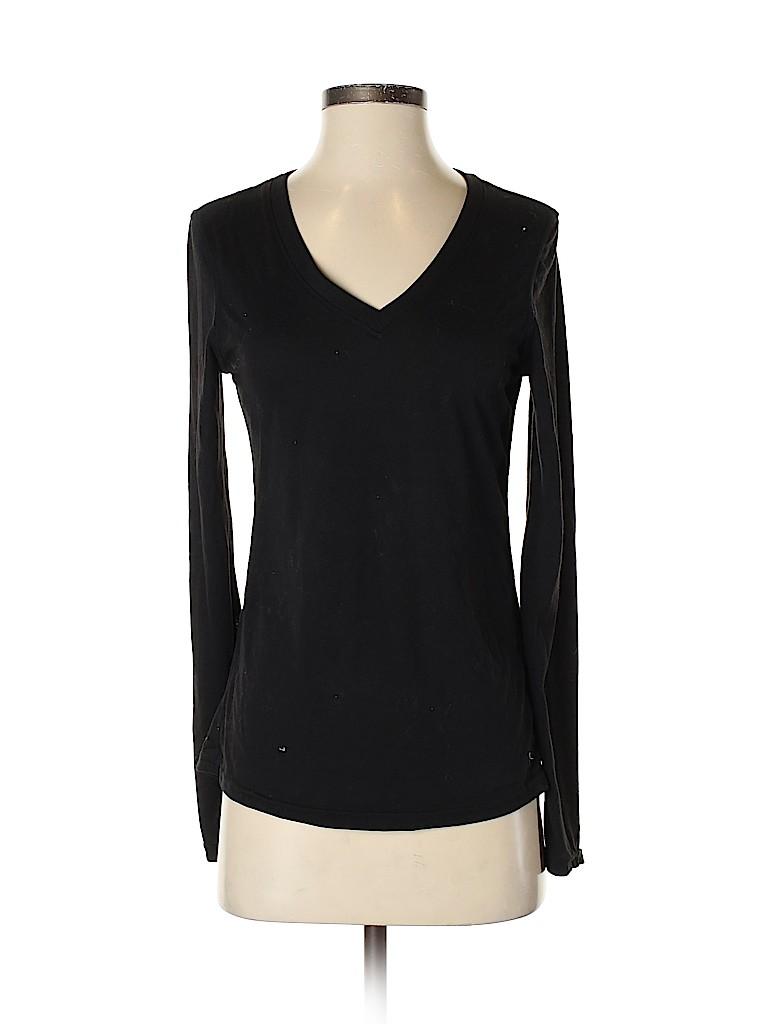 Danskin Now Women Long Sleeve T-Shirt Size 4 - 6
