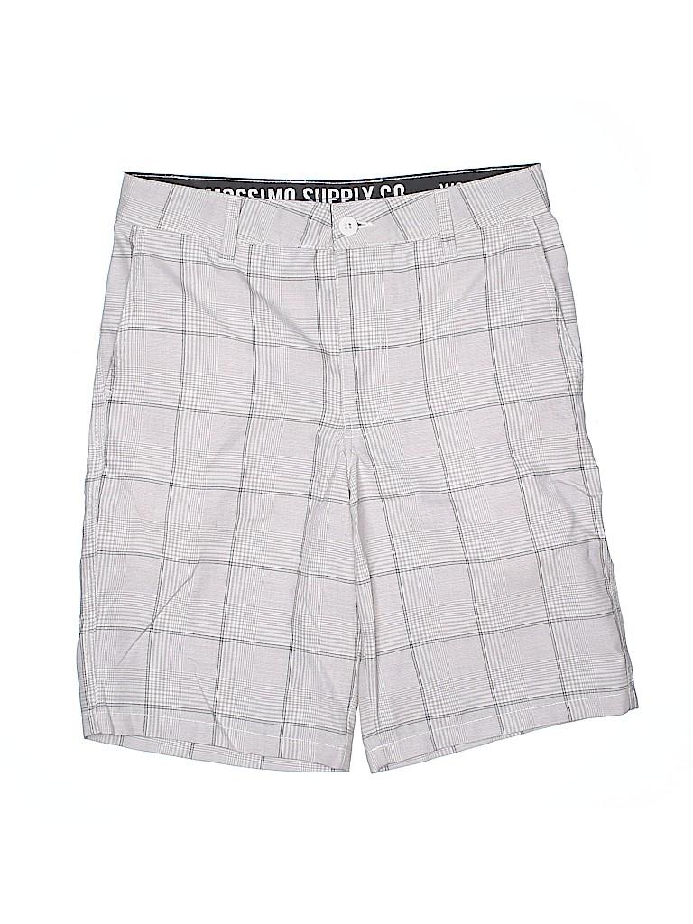 Mossimo Supply Co. Women Khaki Shorts 30 Waist