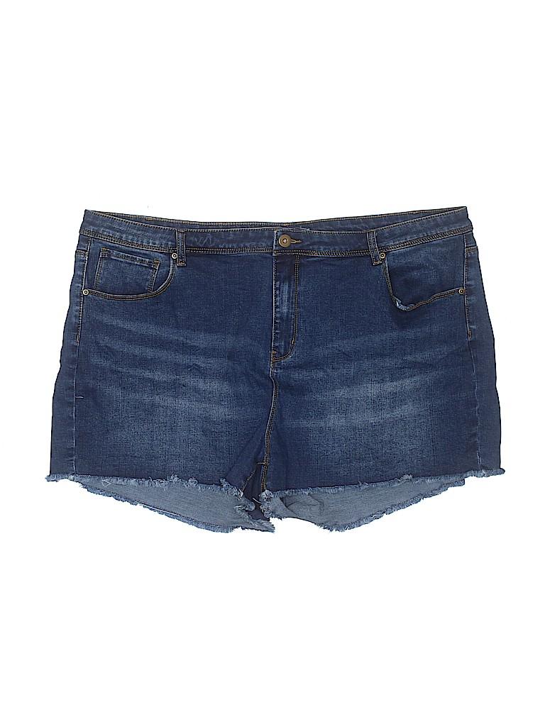 ModCloth Women Denim Shorts Size 22 (Plus)