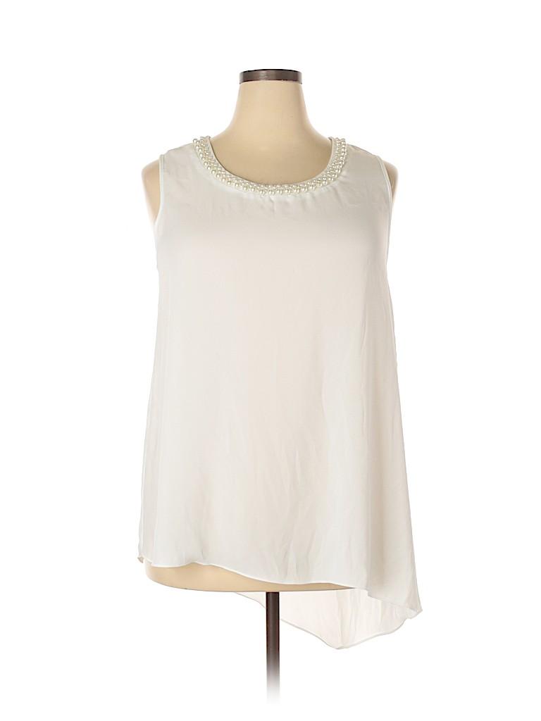 C established 1946 Women Sleeveless Blouse Size 18 (Plus)