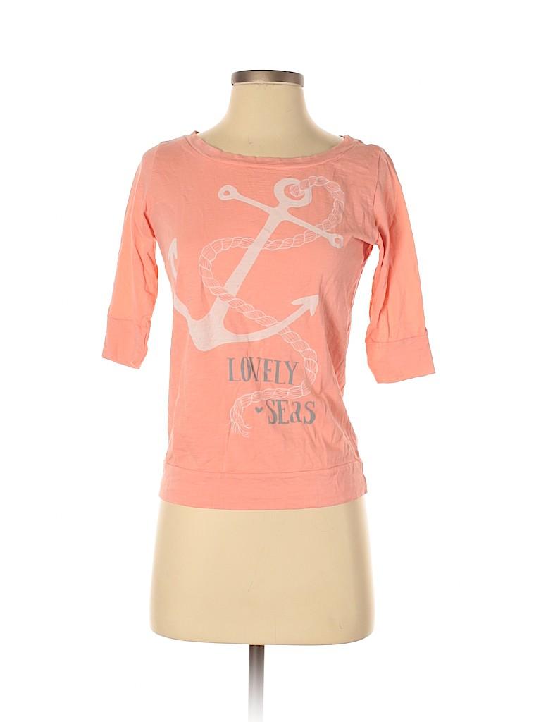 Old Navy Women 3/4 Sleeve T-Shirt Size XS