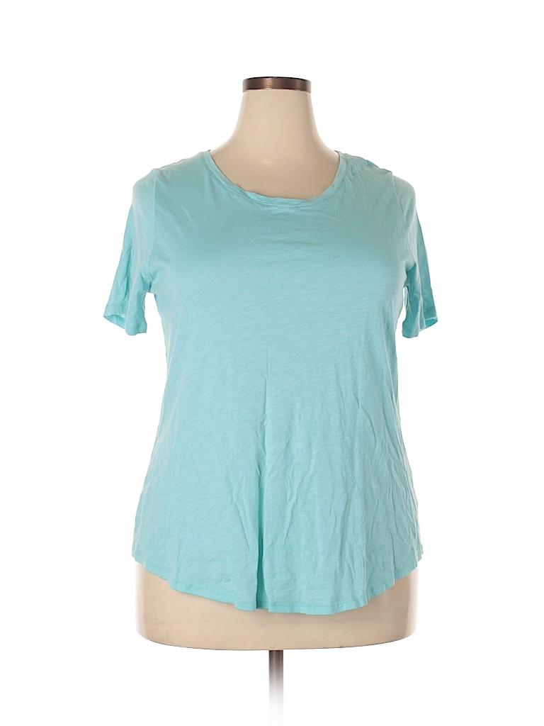 C established 1946 Women Short Sleeve T-Shirt Size 18 - 20 (Plus)