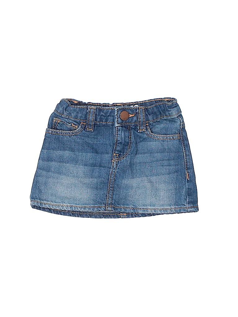 Baby Gap Girls Denim Skirt Size 12-18 mo