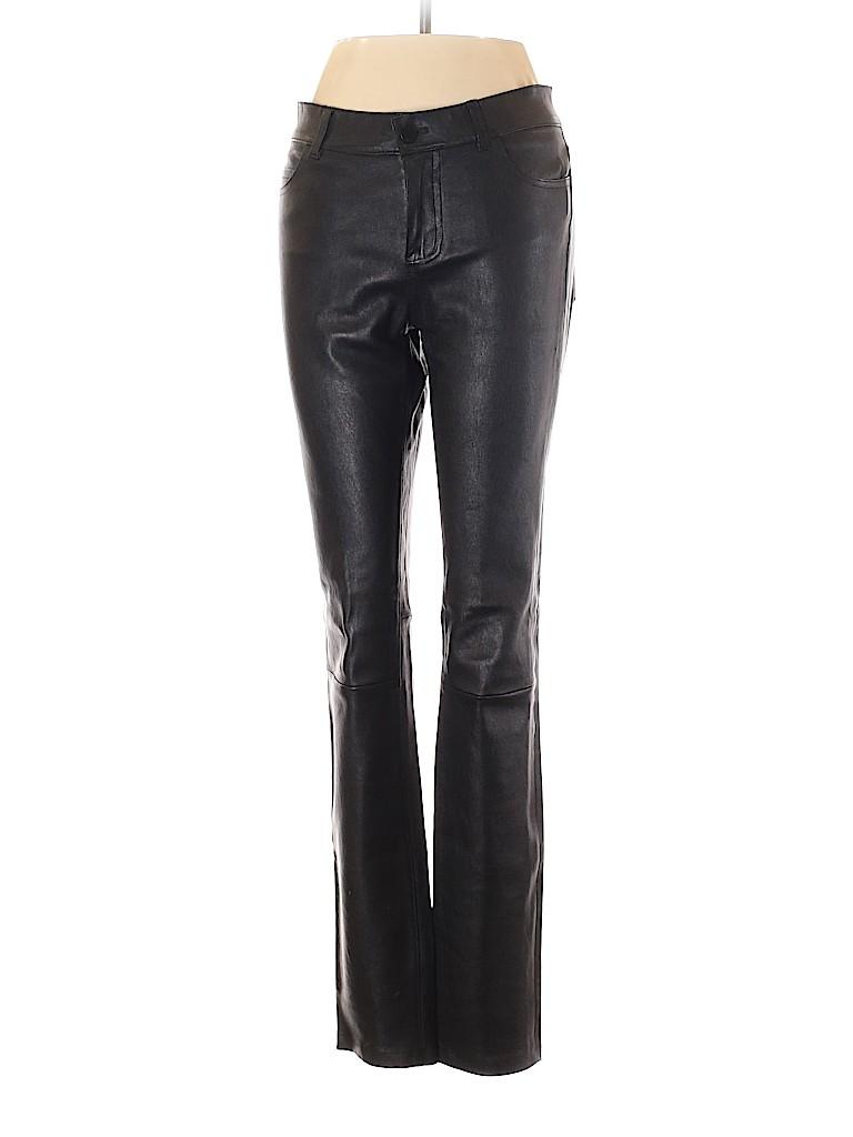 Vince. Women Leather Pants Size 10