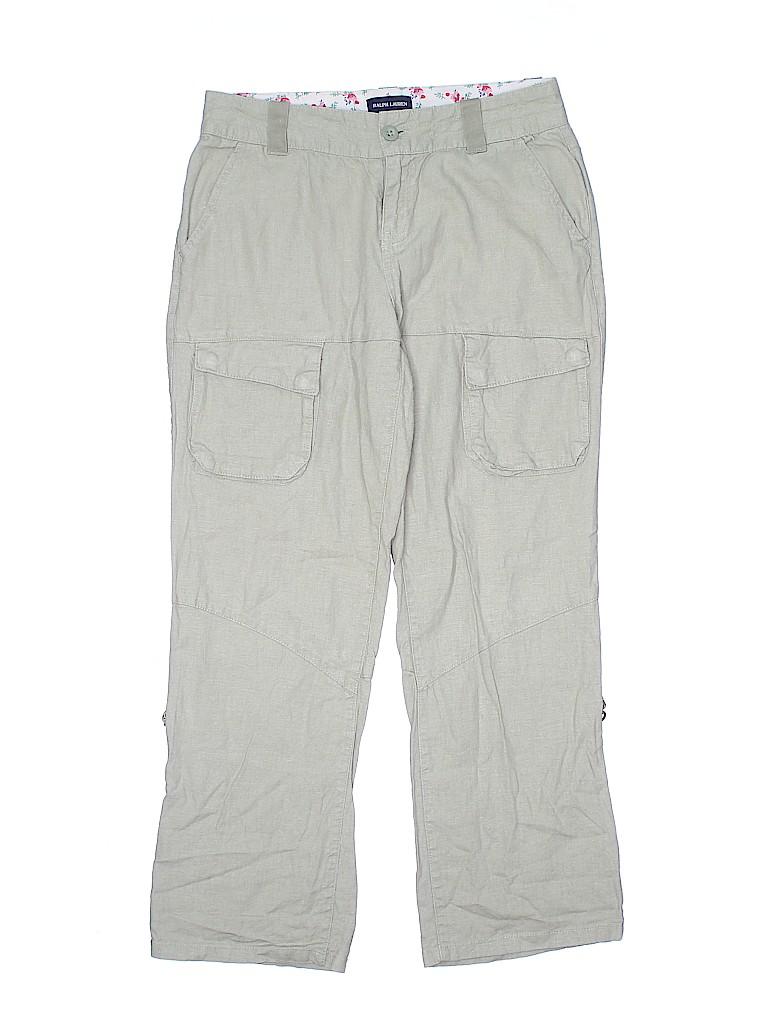 Ralph Lauren Girls Linen Pants Size 14