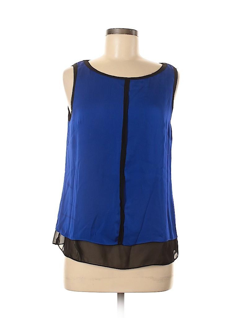 Milly Women Sleeveless Silk Top Size 8