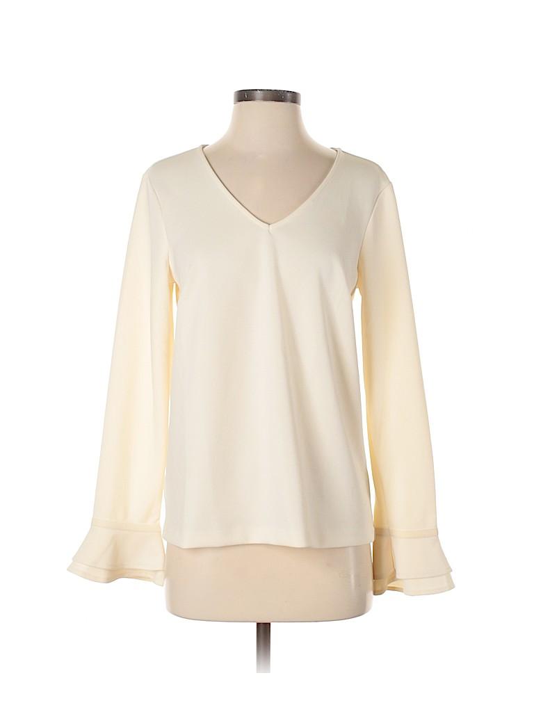 Ann Taylor Women Long Sleeve Blouse Size S