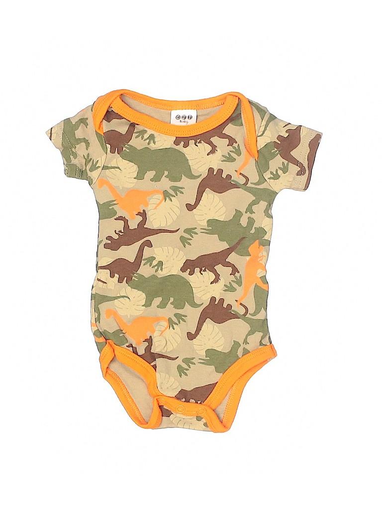 CJP Baby Boys Short Sleeve Onesie Size 0-3 mo