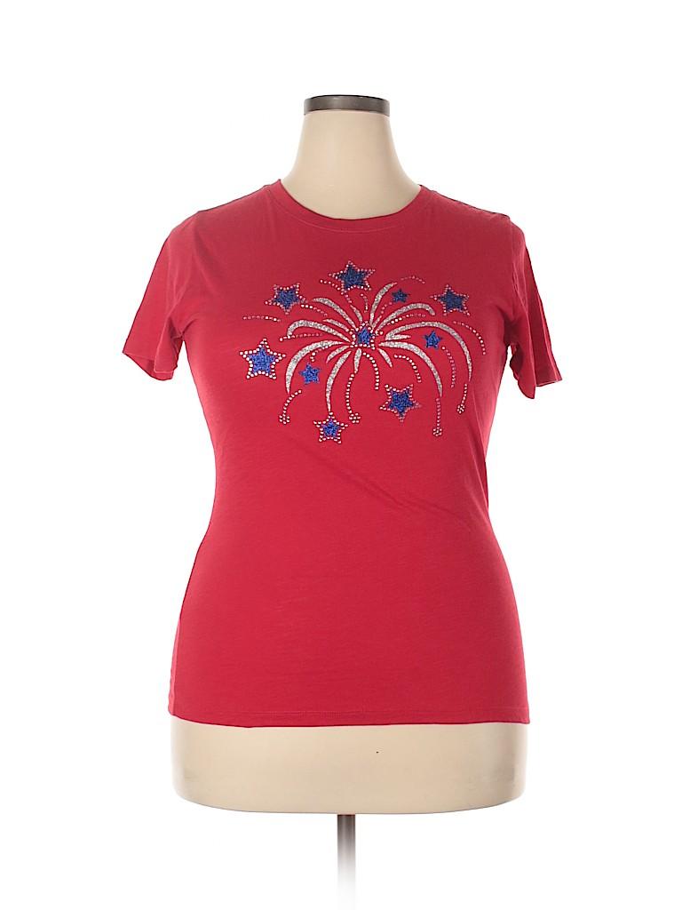 Next Level Apparel Women Short Sleeve T-Shirt Size XL