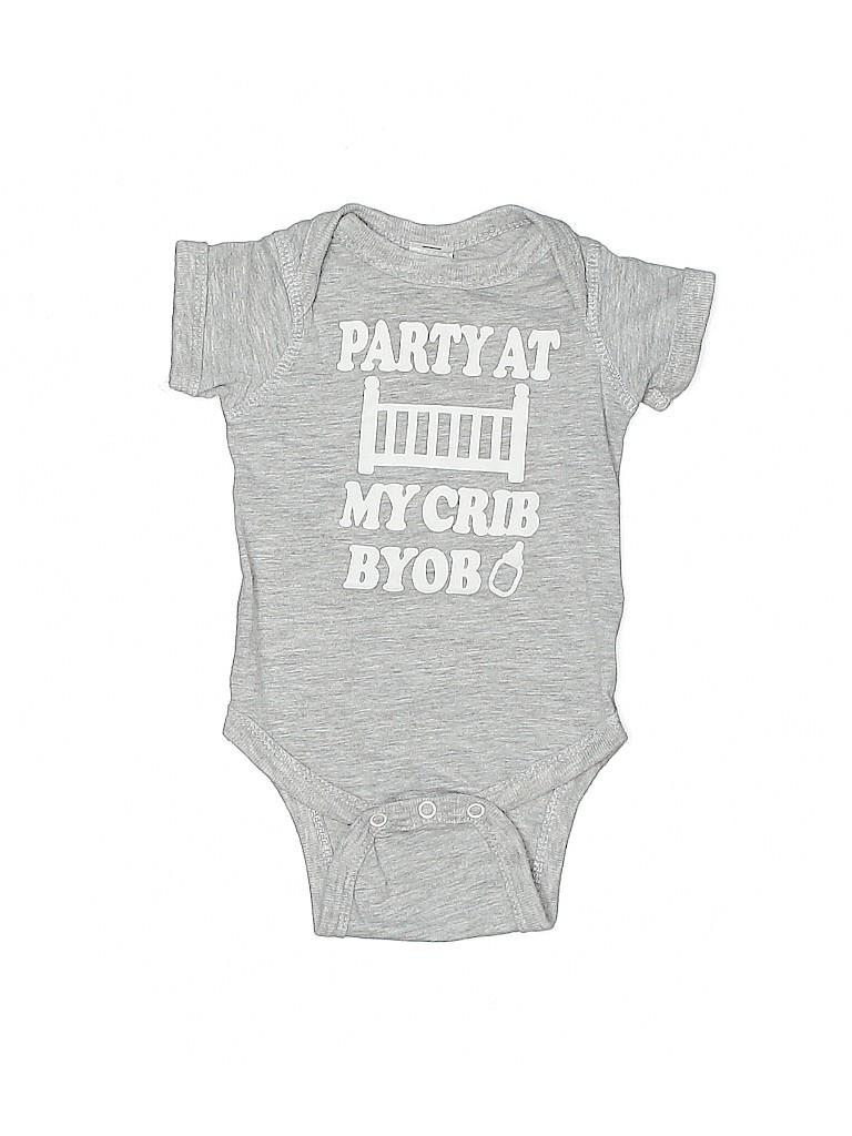 Assorted Brands Boys Short Sleeve Onesie Newborn