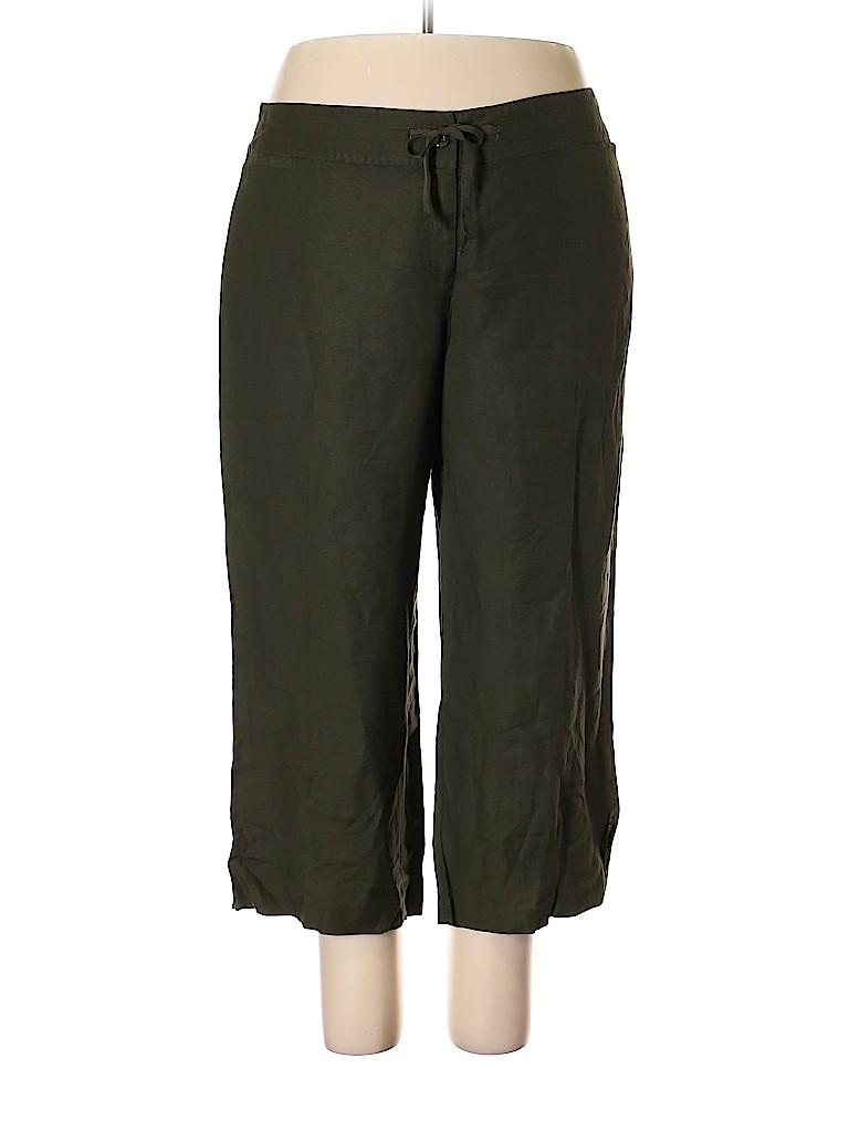 Lane Bryant Women Linen Pants Size 18 - 20 Plus (Plus)