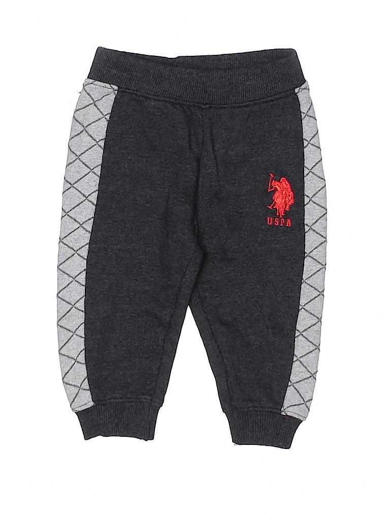 U.S. Polo Assn. Boys Sweatpants Size 18 mo