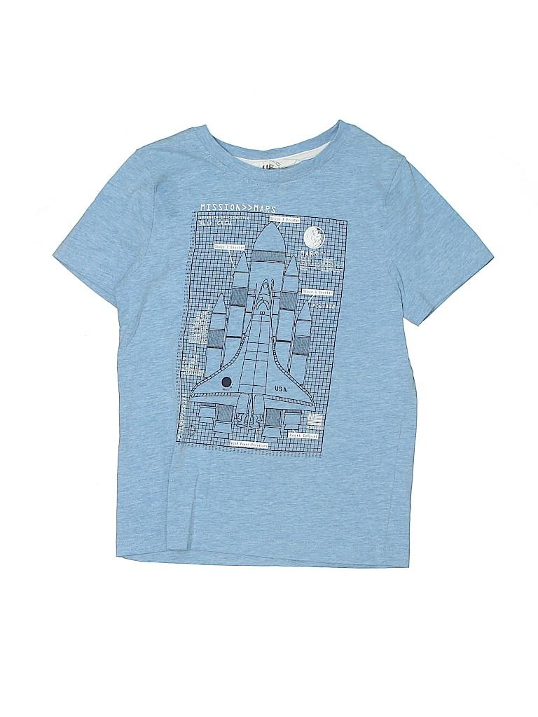 H&M Boys Short Sleeve T-Shirt Size 6 - 8