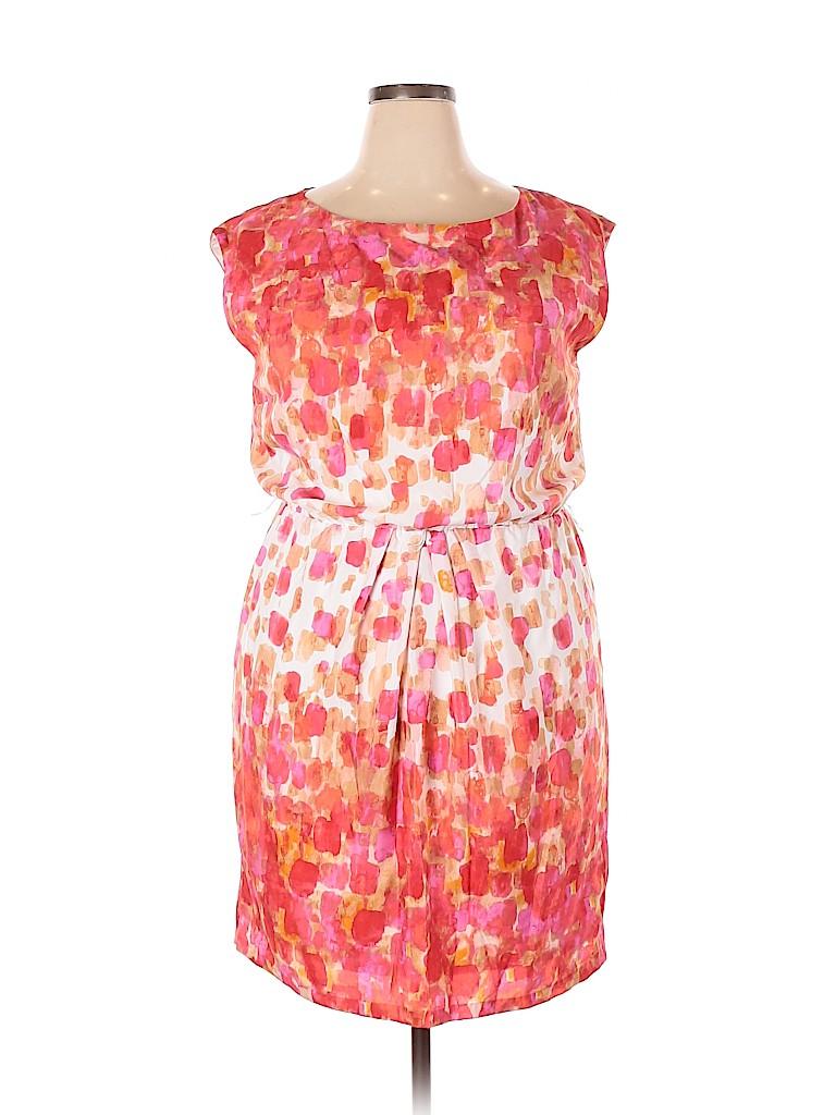 Jessica Howard Women Casual Dress Size 18 (Plus)
