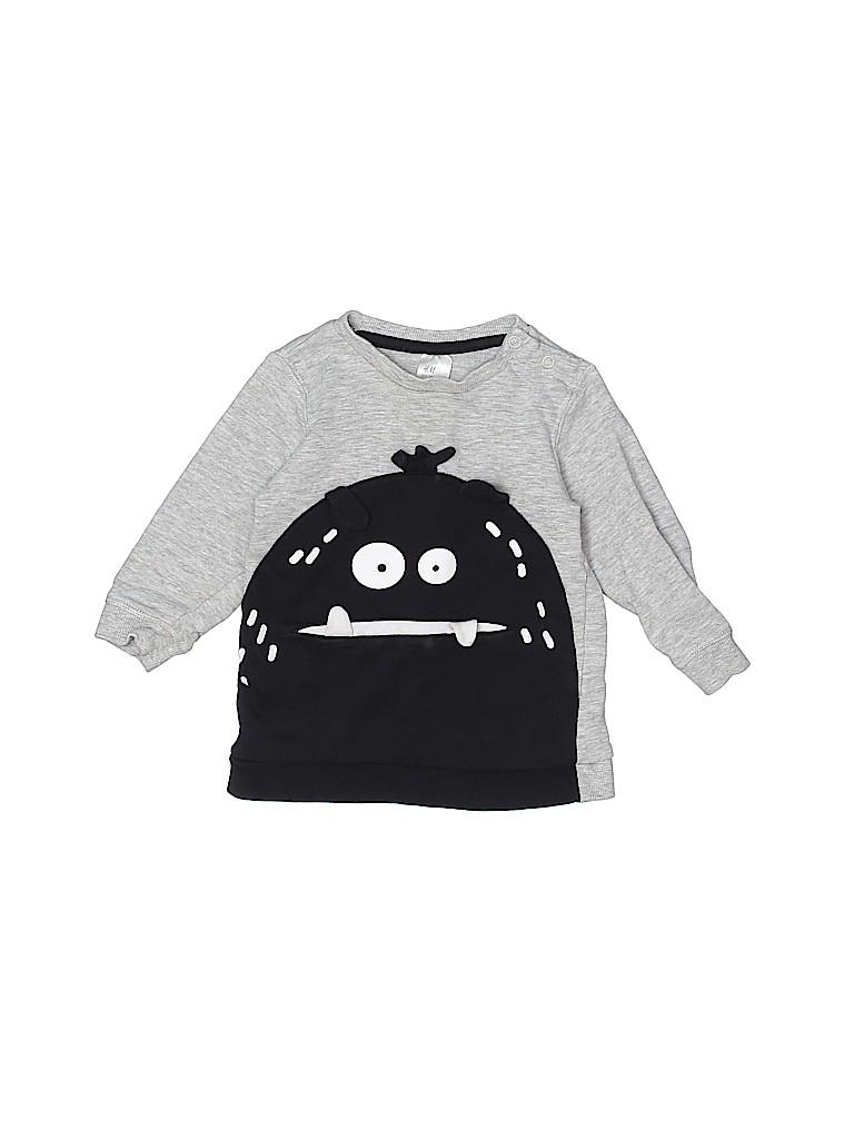 H&M Boys Sweatshirt Size 9-12 mo