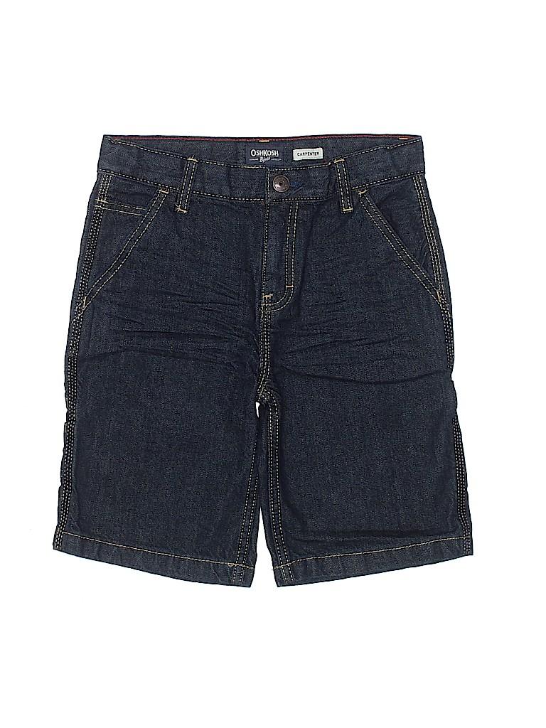 OshKosh B'gosh Boys Denim Shorts Size 8 (Husky)