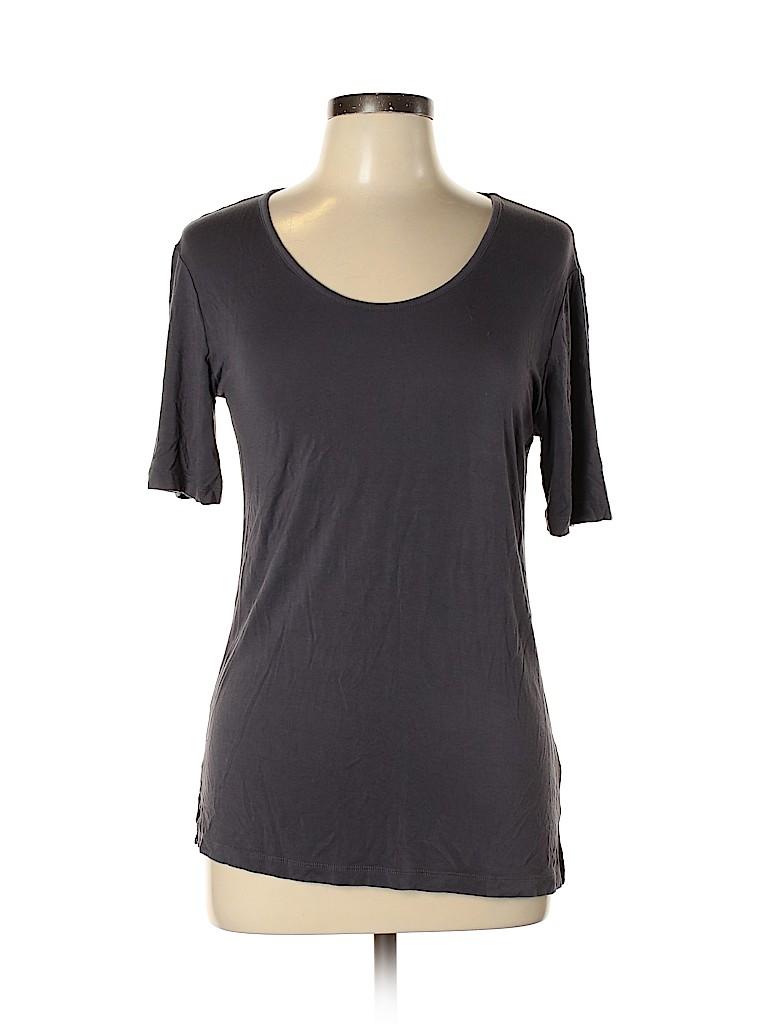 Brass Women Short Sleeve Top Size XL