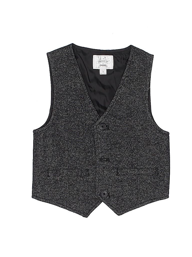 Gymboree Boys Tuxedo Vest Size S (Kids)