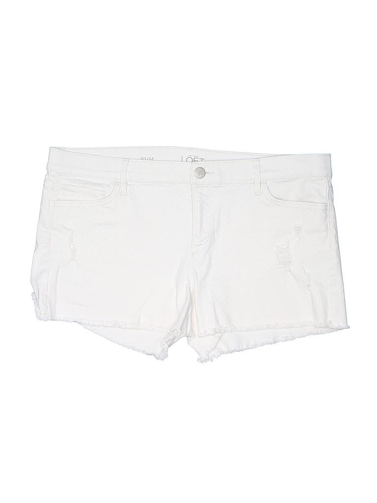 Ann Taylor LOFT Women Cargo Shorts Size 14