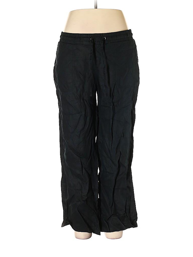 Amazon Essentials Women Linen Pants Size L