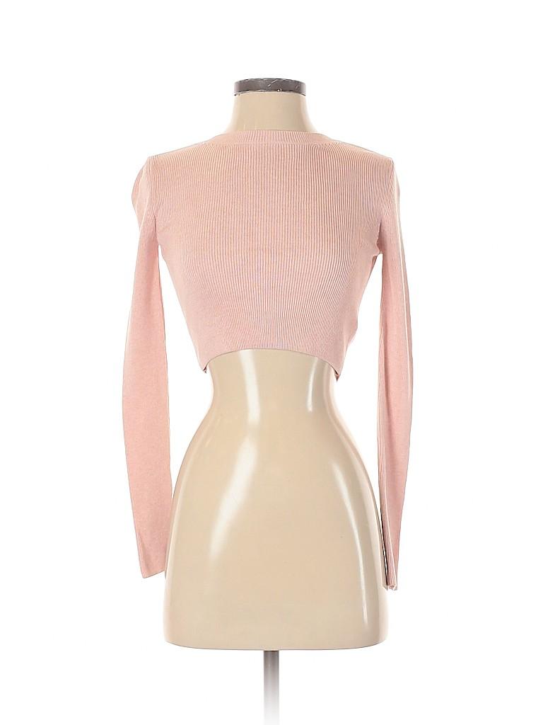 Topshop Women Long Sleeve Top Size 4