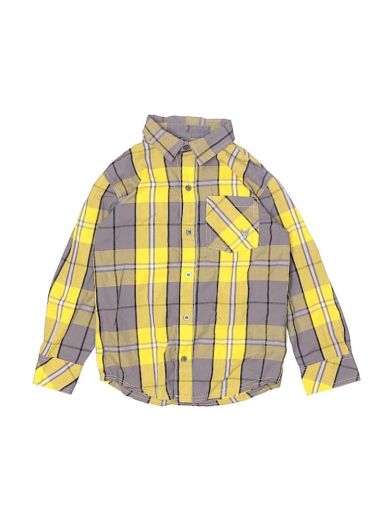 Company 81 Boys Long Sleeve Button-Down Shirt Size 7