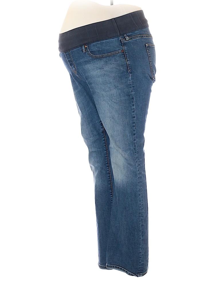 Gap - Maternity Women Jeans Size 14 (Maternity)