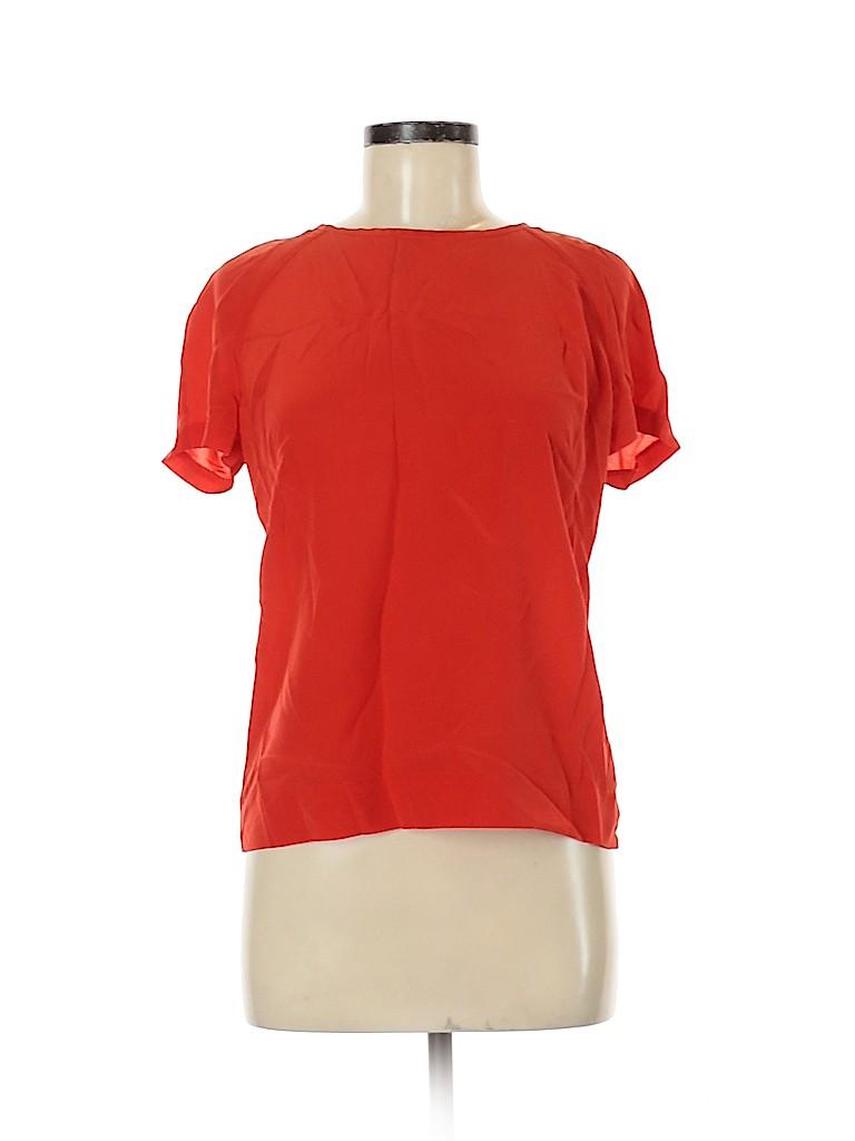Tory Burch Women Short Sleeve Blouse Size 8