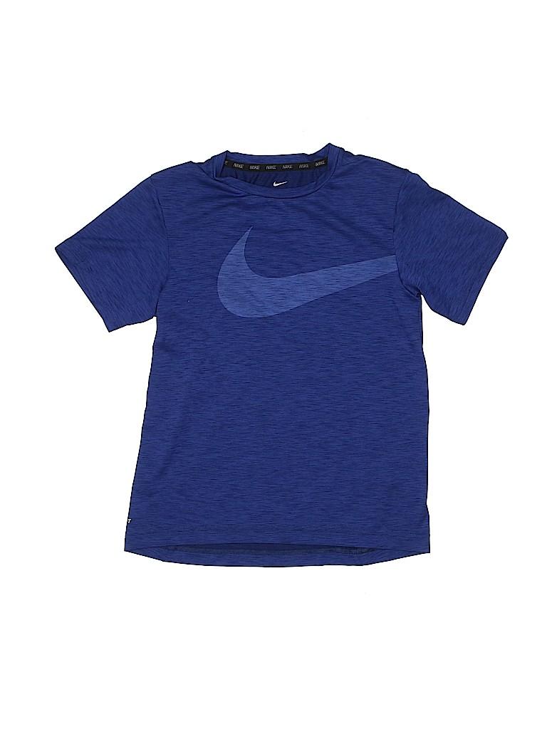 Nike Boys Active T-Shirt Size M (Kids)