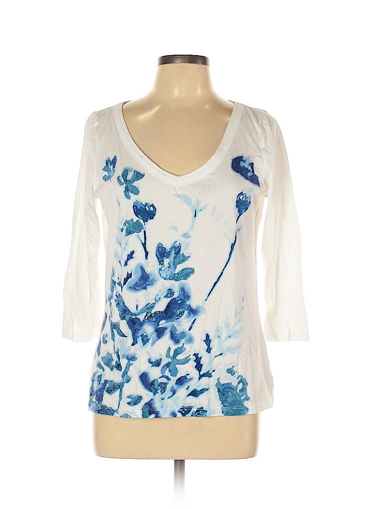 Talbots Women 3/4 Sleeve Top Size M