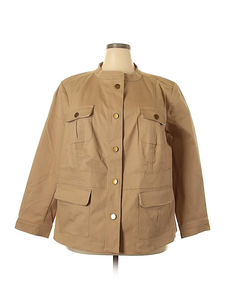 Ann Taylor LOFT Women Jacket Size 22 (Plus)