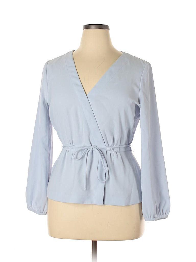 J. Crew Women Long Sleeve Blouse Size 14