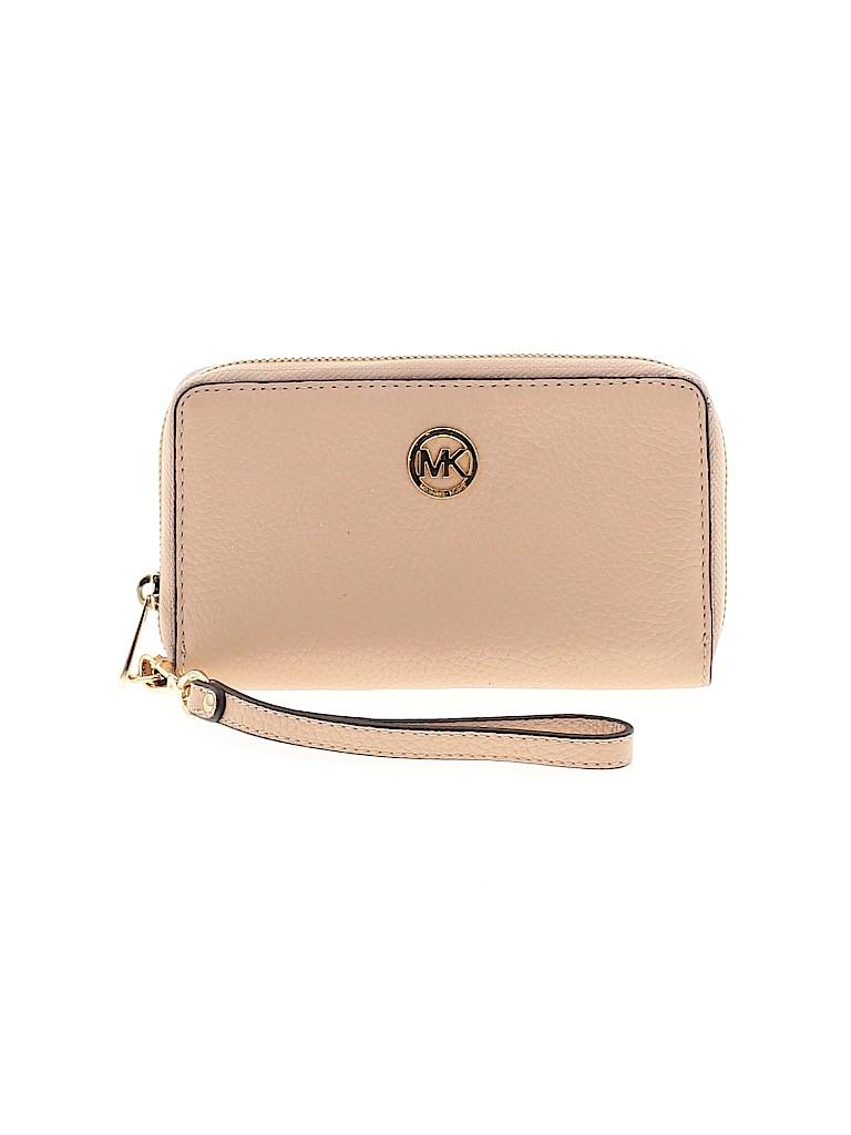MICHAEL Michael Kors Women Leather Wristlet One Size