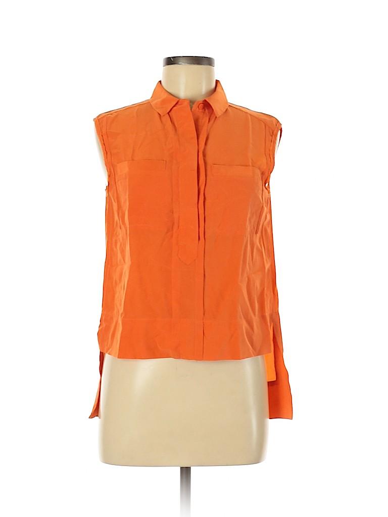 Diane von Furstenberg Women Sleeveless Blouse Size 6