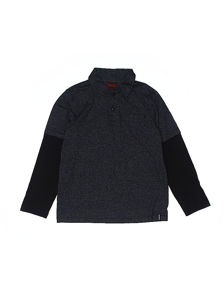 Tony Hawk Boys Long Sleeve Polo Size 7