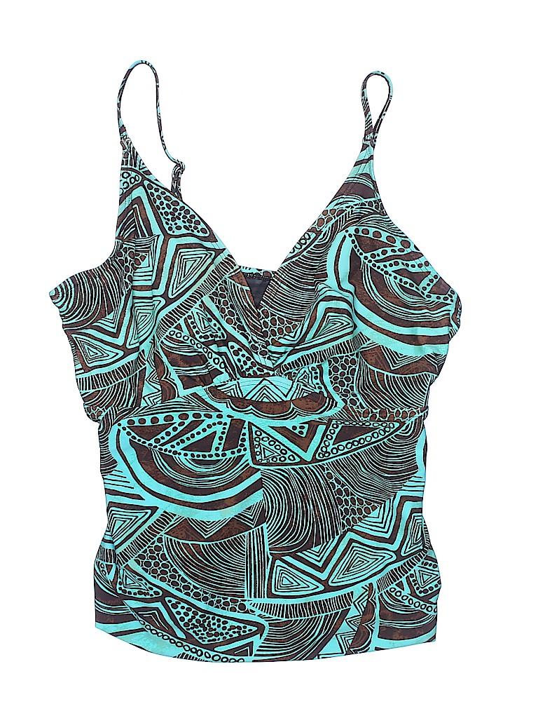 Croft & Barrow Women Swimsuit Top Size 16