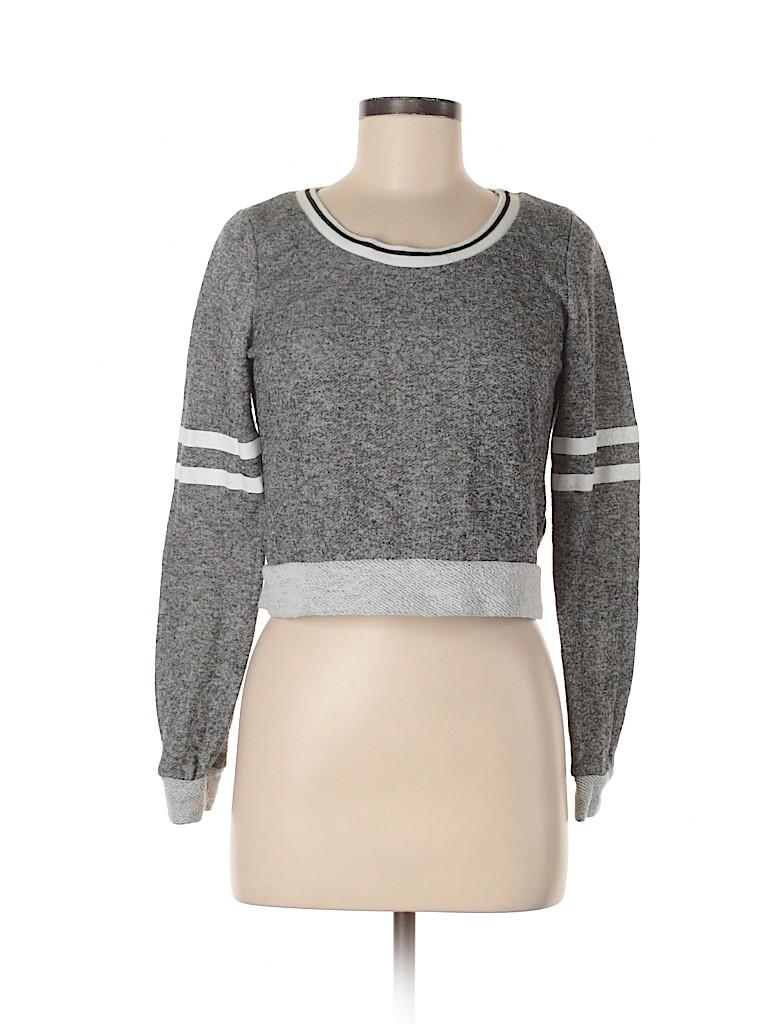 Charlotte Russe Women Sweatshirt Size M