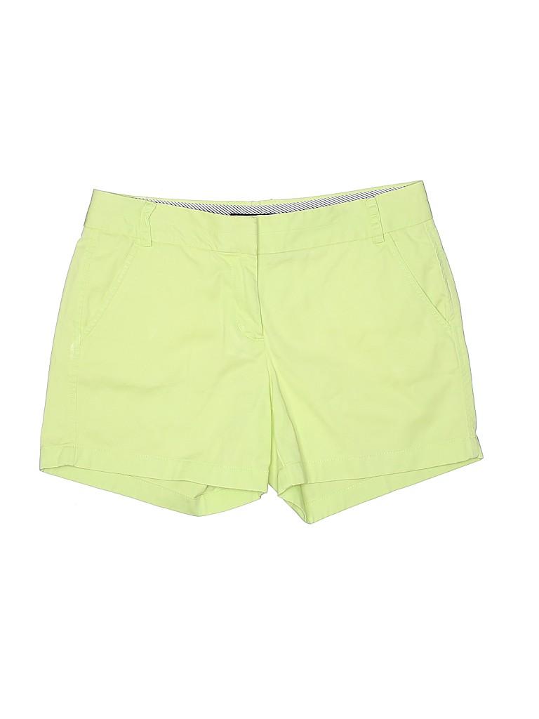J. Crew Women Khaki Shorts Size 8