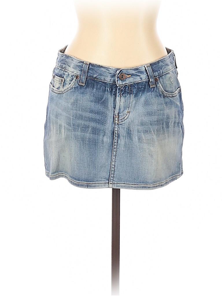 BKE Women Denim Skirt 30 Waist