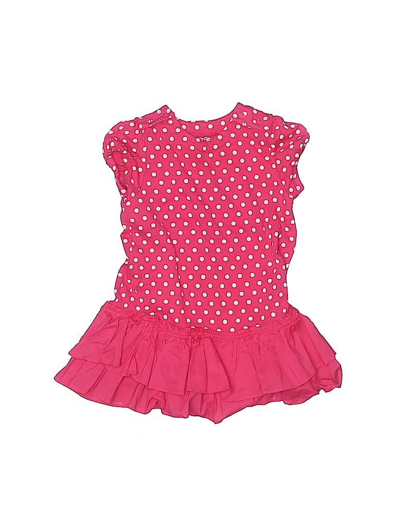 Baby Gap Girls Short Sleeve Onesie Size 12-18 mo