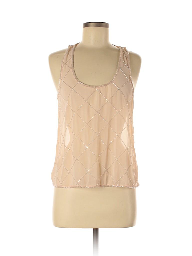 Studio Spa Women Sleeveless Blouse Size M
