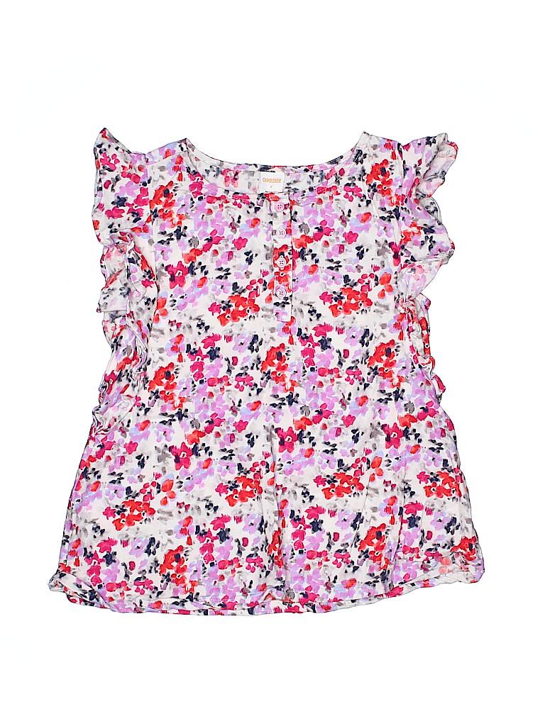 Gymboree Girls Short Sleeve Blouse Size 8